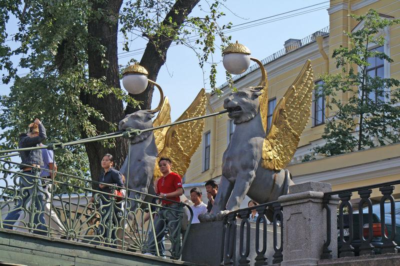 Фото 4, Банковский мост, Санкт-Петербург