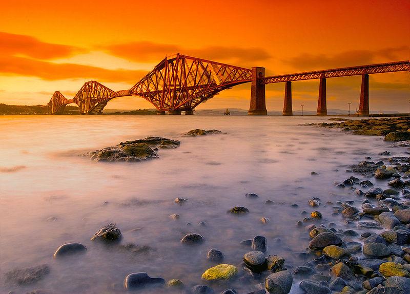 Фото 3, Мост через Форт, Шотландия