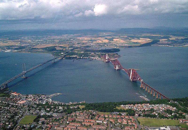 Фото 2, Мост через Форт, Шотландия