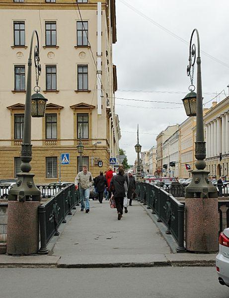 Фото 4, Итальянский мост, Санкт-Петербург