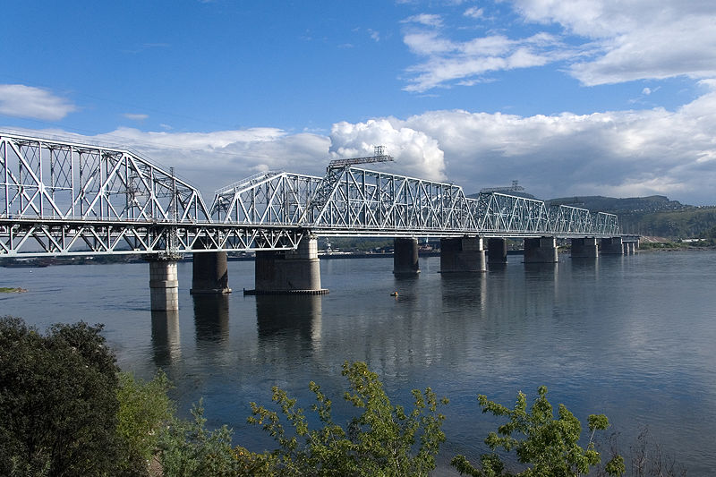 Photo 1, Krasnoyarsk Railway Bridge, Krasnoyarsk