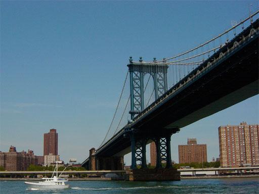 Фото 1, Манхэттенский мост, Нью-Йорк