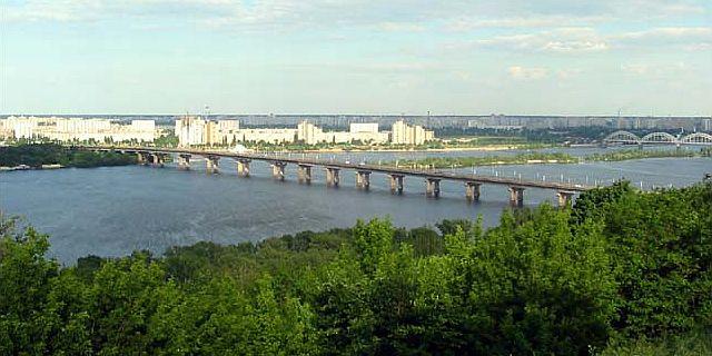 Фото 1, Мост Патона, Киев