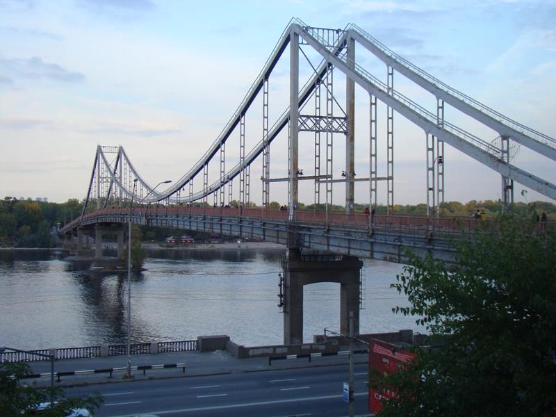 Фото 4, Пешеходный мост, Киев