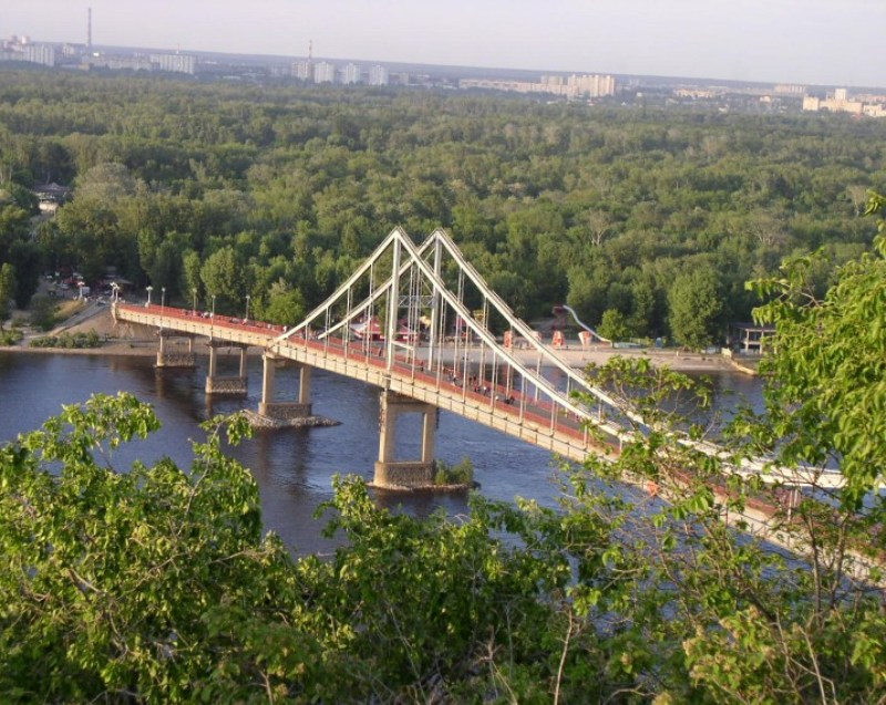 Фото 8, Пешеходный мост, Киев