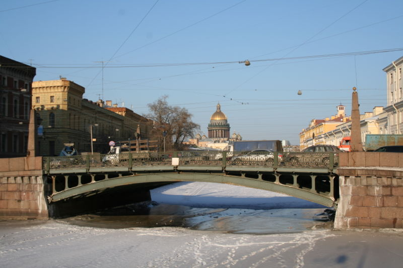Photo 1, Potseluev Bridge, Saint Petersburg