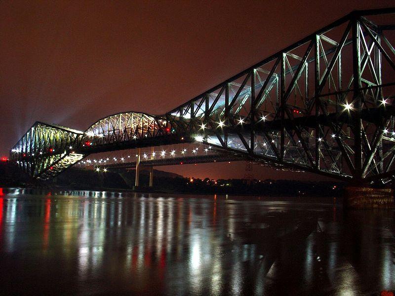 Photo 1, Quebec Bridge, Quebec, Canada