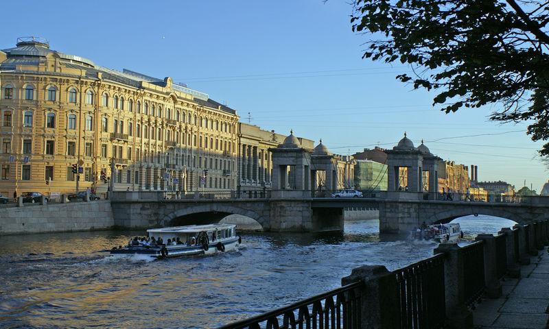 Фото 2, Мост Ломоносова, Санкт-Петербург